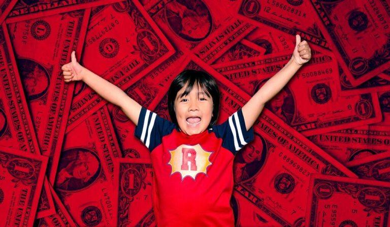 Ryan Kaji: el Niño YouTuber mejor pagado del año
