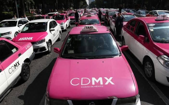 Taxistas alistan una megamarcha (otra vez) en Ciudad e Mexico